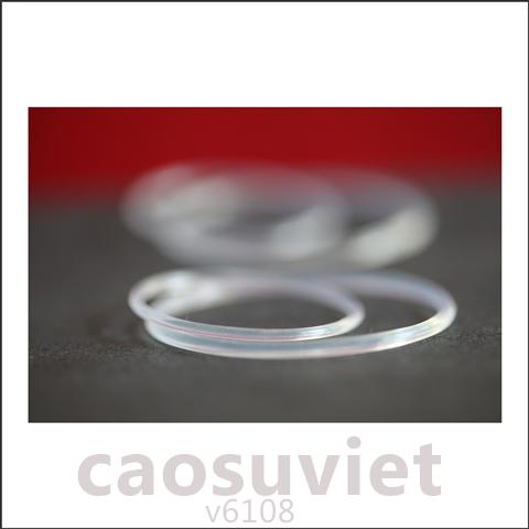 Ảnh trừu tượng - Đệm cao su o-ring