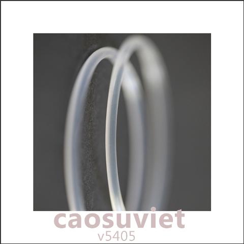 Ảnh trừu tượng o-ring silicone làm kín