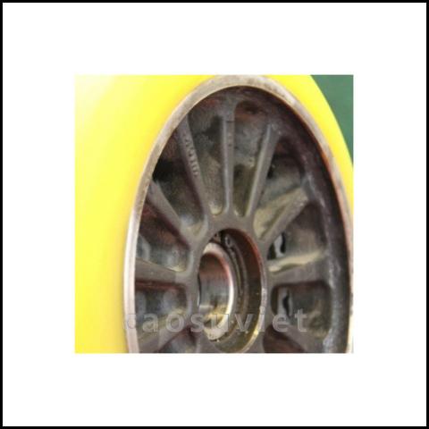 Bánh xe bọc cao su | Rubber wheels