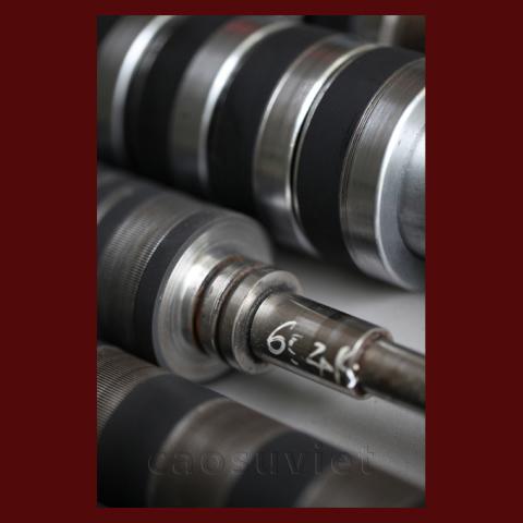 Bọc cao su cho các lõi kim loại