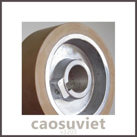 Cao Su Việt - Ru lô cao su nhựa bám dính kim loại