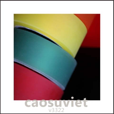 Con lăn cao su đáp ứng yêu cầu cả về chất lượng và màu sắc