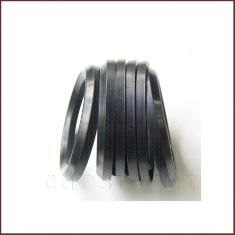 Oil seals made of nitrile synthetic rubbers