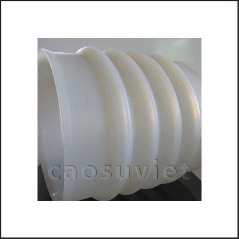 Ống nhún cao su dùng trong chế biến thực phẩm