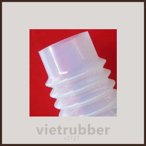 Cao Su Việt - Ống silicone che bụi trong ngành thực phẩm