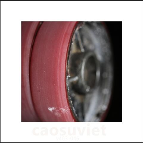 Phục hồi bánh xe cao su cũ