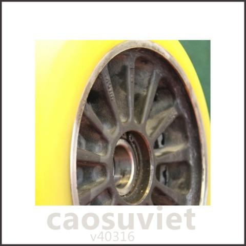 Phục hồi các loại bánh xe cao su cũ