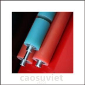 Sản phẩm cao su kỹ thuật - Trục cao su ngành bao bì bọc nhựa PU