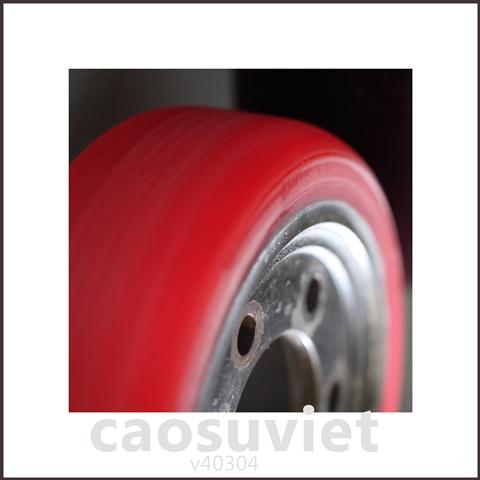 Sản xuất các loại bánh xe cao su công nghiệp