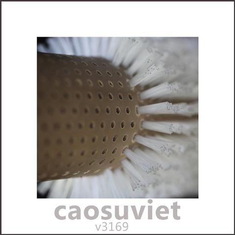 Trục cao su cắm cước làm sạch bề mặt gỗ của Cao Su Việt