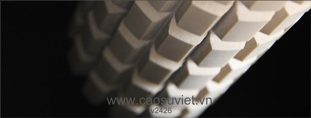 Vietrubber company - Hình ảnh lô trục cao su máy tách củ tỏi
