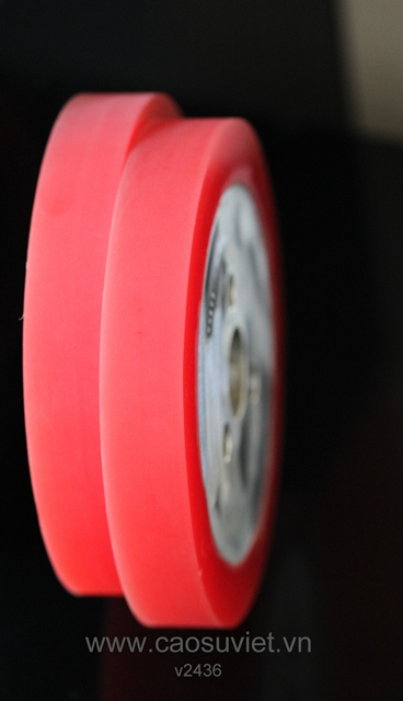 Cao su nhựa polyurethane - Con lăn PU đè gỗ