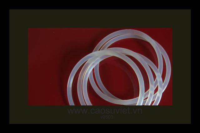 O-ring bằng silicone chịu nhiệt