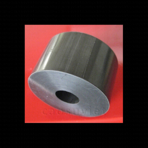Cylindrical rubber dampers