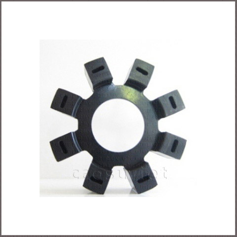Rubber couplings for torque transmission