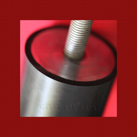 Rubber rollers for laminating machines