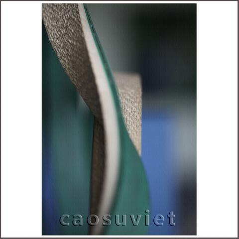 Custom rubber coated flat belts