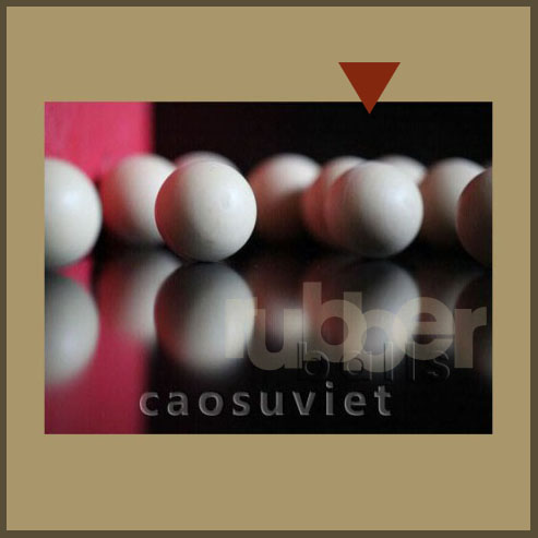 High quality molded rubber balls