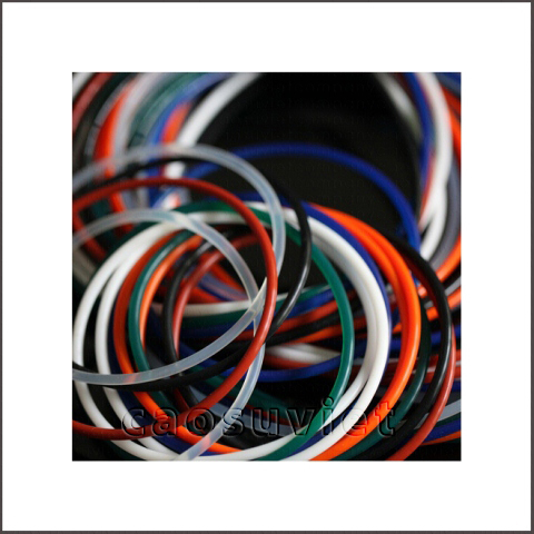 Rubber seals with good and uniform quality