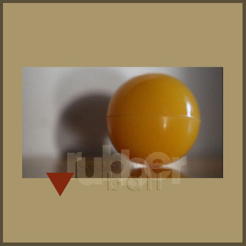 High hardness molded rubber balls