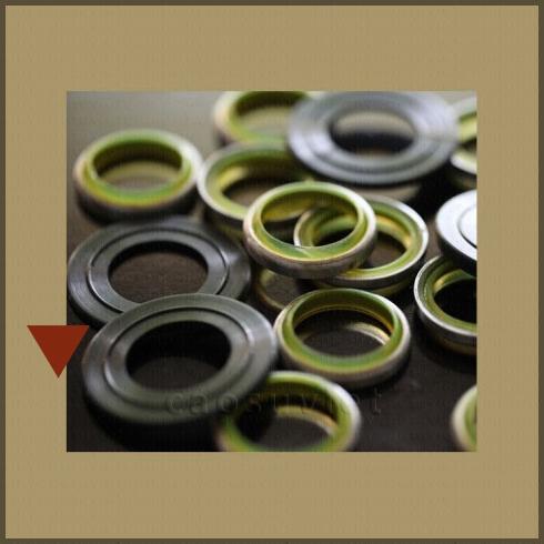 Polyurethane coated metal parts